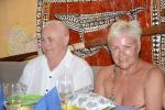 solenizantka Lucyna z mężem