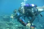 Jula z Mariuszem pod wodą