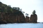 skały w północnej części Port Resolution