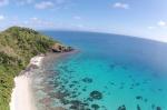nasza plaża przy Namara ujęcie z drona
