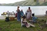 rozmowy z mieszkankami wioski w Viani Bay