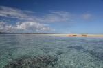 łacha piachu podczas odpływu