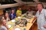 Tomkowe sushi ze złowionych ryb