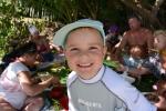 Antoni podczas pikniku na Namara