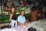 podpisujemy polską banderę dla Port Resolution Yacht Club