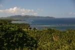 widok na wyspę Qamea z punktu widokowego w Tavoro