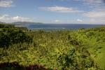 widok na wyspę Qamea z punktu widokowego w Tavoro 2