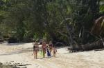 dziatwa na plaży