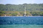 jachty w Segond Channel przy Aore Island