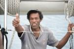 Joe - przywitał nas po dopłynięciu do Marau Sound 04.08.2014