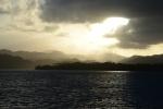 zachód słońca nad Guadacanal