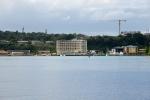 centrum Port Villa widziane z wody