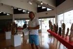 Mariusz w cenrum kultury w Port Villa