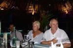 na kolacji w Port VIlla