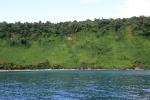 zachodnie wybrzeże Efate, gdzie zatrzymaliśmy się na nurka