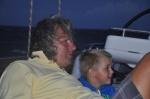 Mariusz z Antkiem oglądają duże fale