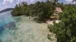 wioska Marau widziana z powietrza