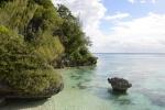 Katharsis na kotwicy przy Wyspie Lelepa koło Efate