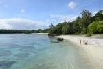 kolejna rajska plaża tylko dla nas - Lelepa 25.07.2014