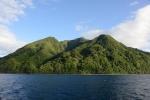 wzgórza na południu Erromango przypominają Pitonsy na St.Lucia