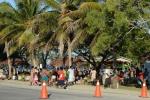 tłumy w Luganville w Dzień Niepodległości Vanuatu