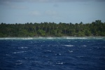 rafa osłaniająca Banam Bay na Malakula