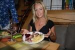 Hanuś podczas imieninowego obiadu