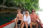 Magda i Marek z synem Marcinem