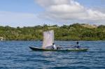 łódź wiosłowo-żaglowa