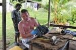 Kuba w czynie społecznym da wioski Boboe ZS