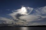 niebo nad Morovo Lagoon 10.09.2014