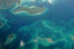 Wyspy Salomona z okien samolotu 1