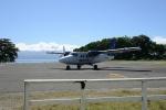 samolot, którym lecieliśmy z Gizo do Honiary