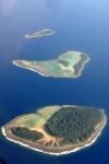 Wyspy Salomona z okien samolotu 2