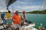 Mariusz z Misiem nawigują do Rendova Island ZS