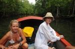 Hania z Romą w kanale w Morovo Lagoon 09.09.2014 ZS