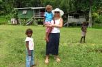 Madzia z dzieciaczkami z wioski 05.09.2014 MT