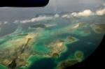 Wyspy Salomona z okien samolotu 3