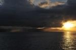 wschód słońca nad Gizo ZS