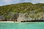 skaliste wybrzeże Panasia Island 21.09.2014 ZS