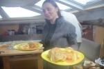 w nagrodę gołąbki na obiad przygotowane przez Tomcia i Anię
