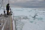 już widać kanał, tylko jak ten ciężki lód rozepchnąć