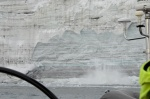cielący się lodowiec