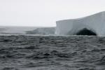 gdyby nie blokada z lodu można by próbować zejść na szelf