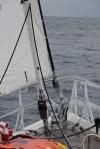 na żaglach przez Morze Rossa