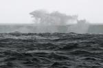 Bay of Whales wita nas wodnymi fajerwerkami