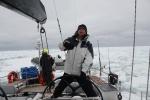 przepływamy przez ostatni pak w drodze do Bay of Whales