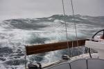 wzburzony Ocean Południowy