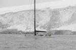 Katharsis na tle lodowca przy Wyspie Franklina