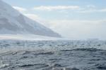 niestety otacza ją bariera lodowa